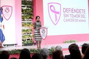 Cándida Montilla de Medina renueva compromiso con salud integral de dominicanas; exhorta a tomar precauciones para resguardar vidas.