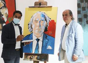 Oscar Abreu auspició muestra con gran éxito.