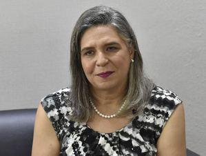 Vicerrectora académica del ISFODOSU, Rosa Kranwinkel.