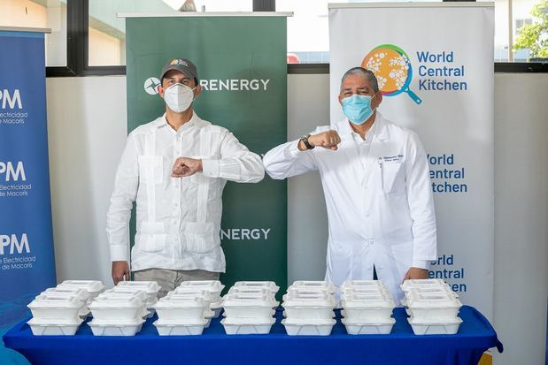 InterEnergy Group y World Central Kitchen suman esfuerzos en apoyo al personal sanitario