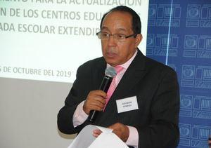 Giovanny Romero, coordinador de la Política de Tanda Extendida del Minerd.