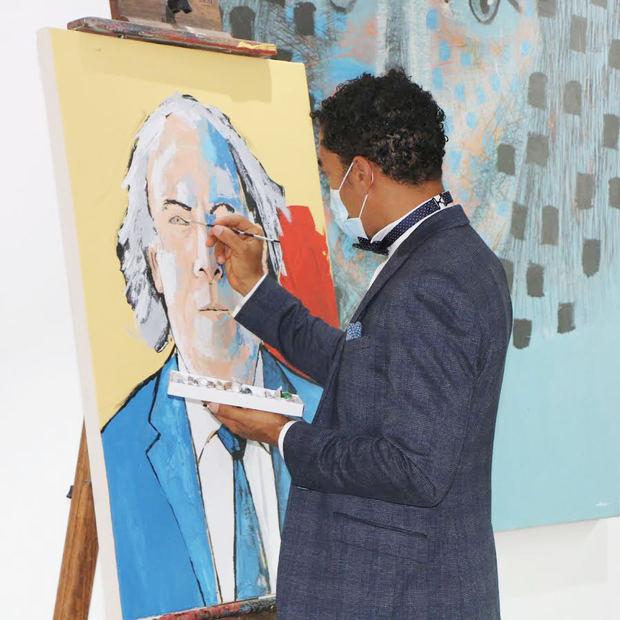 Oscar Abreu auspició muestra con gran éxito