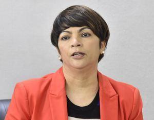 Marta Lora, vicerrectora de Desarrollo e Innovación del ISFODOSU.