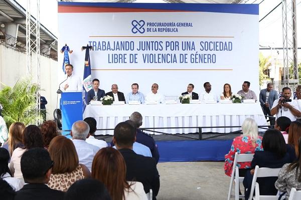Procurador inaugura instalaciones de la Unidad de Atención a Víctimas de Violencia de Género