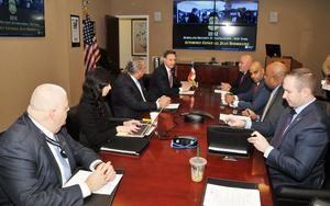 Jean Rodríguez se reúne con el Procurador General del Distrito de Nueva York