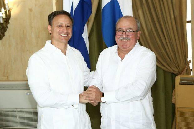 Procurador dominicano se reúne con fiscal general de Cuba para fortalecer cooperación en combate del crimen