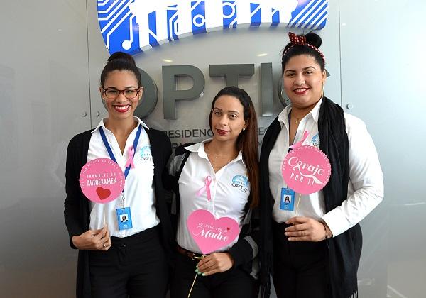 OPTIC inicia campaña en apoyo al mes contra el cáncer de mama