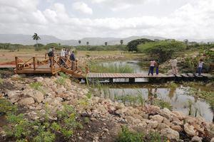 Con la construcción de este humedal artificial, la Fundación Popular reafirma su compromiso con la preservación del medioambiente nacional y la mitigación de los efectos nocivos del cambio climático.