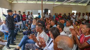 Danilo Medina conoció y aprobó los proyectos presentados por pequeños productores de la provincia El Seibo.
