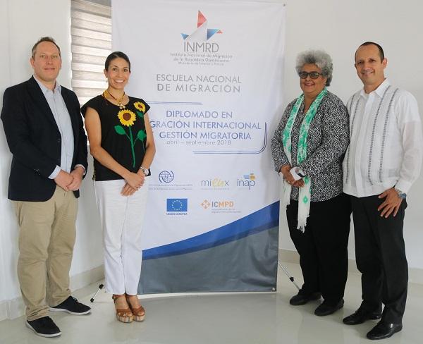 Expertos de México imparten módulo sobre Gestión y Gobernanza Migratoria en diplomado