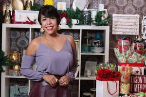 La arquitecta Kirsys Mejía, propietaria de la tienda Gaby Rose, presenta Fancy Christmas.