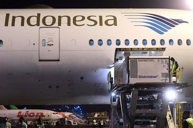 Indonesia recibe el primer cargamento de la vacuna Sinovac contra la Covid-19