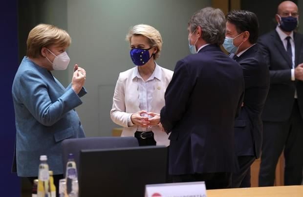 Líderes de la UE acuerdan trabajar con el nuevo Gobierno de EEUU ante los retos globales