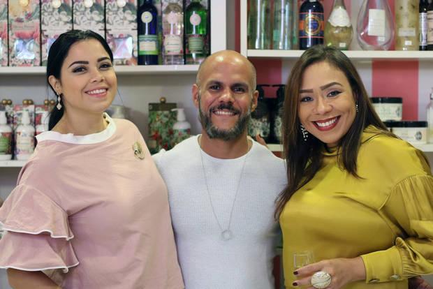 María Angélica Ureña, Miguel Rodríguez y Minerva Ortiz.