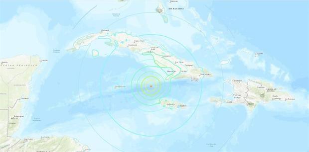 Fuerte terremoto sacude Mar Caribe entre Cuba y Jamaica sin daños personales