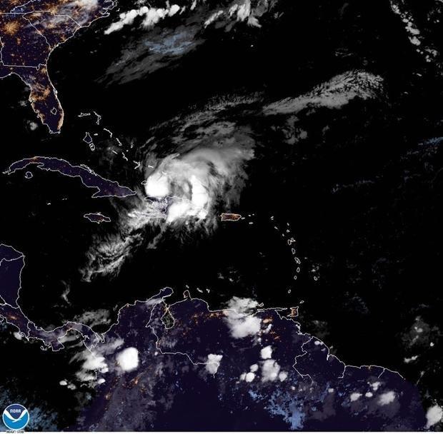 La tormenta Isaías se convierte en huracán categoría 1 al sur de las Bahamas