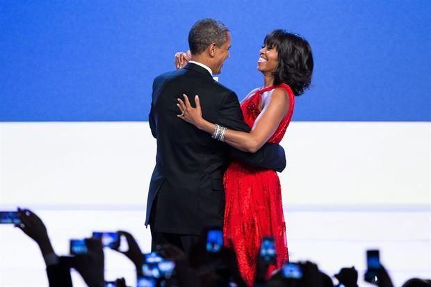 Imagen de archivo del expresidente estadounidense Barack Obama y su esposa, Michelle.