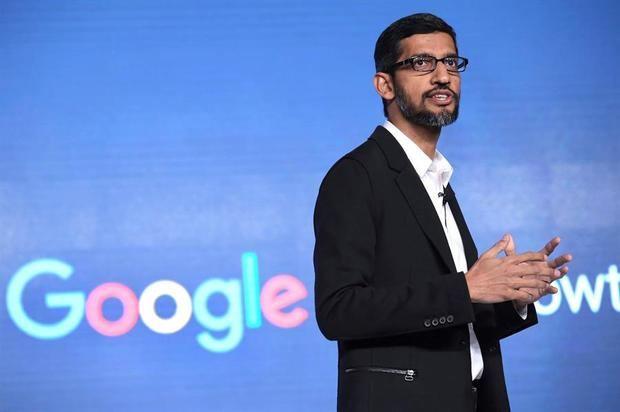 En la imagen, el consejero delegado de Alphabet y Google, Sundar Pichai.