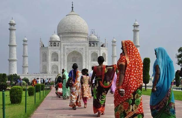 Taj Mahal, La India.