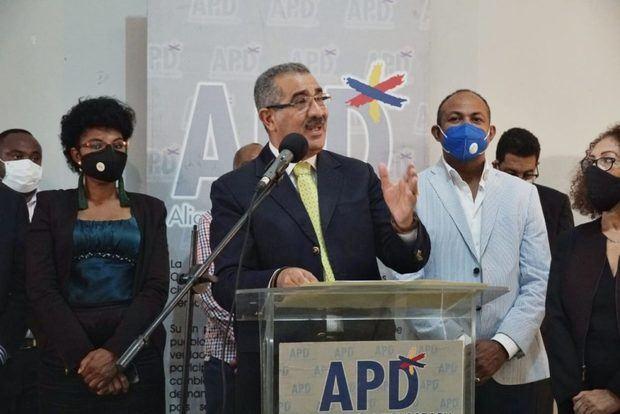 Dirigentes APD.