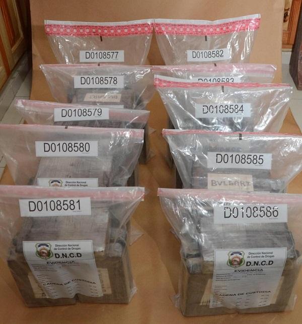 Dncd decomisa 49 paquetes de cocaína enterrados cerca del Río Soco