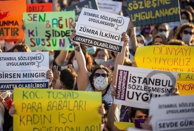 Un tratado contra la violencia machista divide Turquía