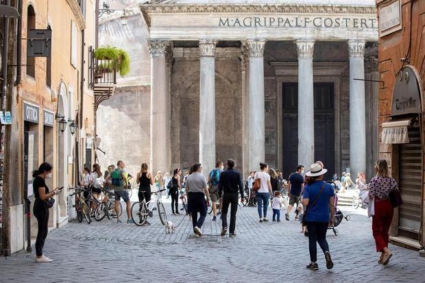 Roma, ciudad abierta...pero sin turistas