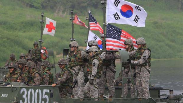 EE.UU. y Corea del Sur realizan ejercicios conjuntos para contrarrestar amenaza norcoreana