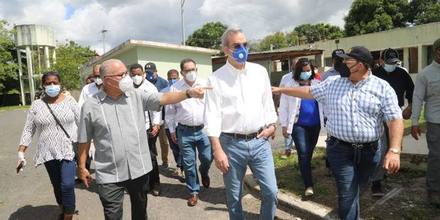 Abinader visita Hato Mayor.