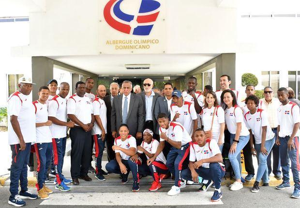 Jefe Misión Panam Lima exhorta a atletas competir al más alto nivel