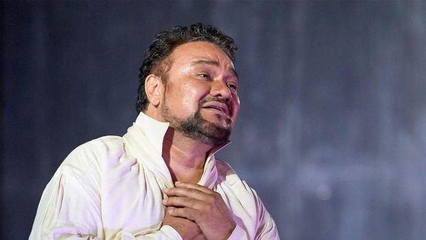 Ramón Vargas, tenor mexicano.