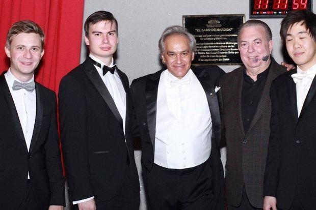 Ganadores del Concurso Internacional de Piano Santander Paloma O´Shea en concierto en el TN