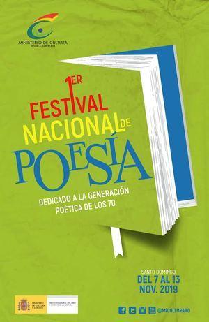 Primer Festival Nacional de Poesía se desarrolló en diversos escenarios