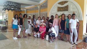 Touroperadores de varias ciudades de los Estados Unidos que visitaron recientemente Puerto Plata en un Fam Trip.