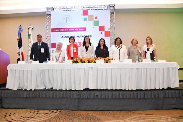Conferencia internacional derechos humanos de los adultos mayores celebrada este jueves 14 de noviembre 2019.