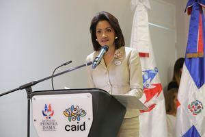primera dama Cándida Montilla de Medina en el Día Internacional de la Discapacidad.