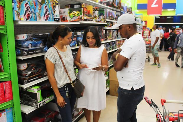 Pro Consumidor garantizó juguetes seguros para los niños en el país