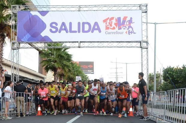 Anuncian VII edición del maratón Carrefour 10K
