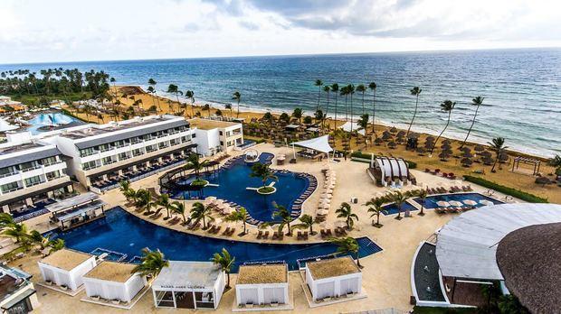 Toma aérea CHIC Punta Cana.
