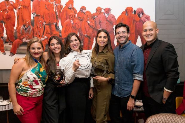María Consuelo Bonilla, Nicole Marie Betances, María Conchita Arcalá, Katherine Collado, Maeno Gómez Casanova y Simón Espinal.