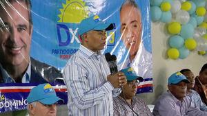 Francisco Fernández candidato alcalde por el municipio Santo Domingo Norte.