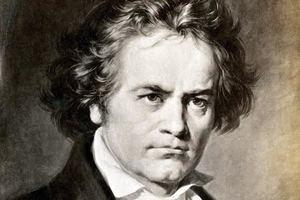 Retrato pintado de Ludwig Van Beethoven