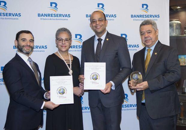 Global Finance otorga tres reconocimientos al Banco de Reservas