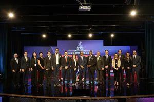 Candidatos a Alcaldes por el Distrito Nacional.