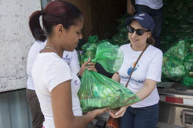 Voluntariado Banreservas beneficia más de 132 mil familias