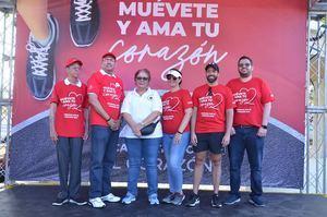 Wilson Amparo, Osiris Valdez, Mayra Melo, Joan Patricia Landolfi, Julio Rafael Curiel y Rafael Mejía.