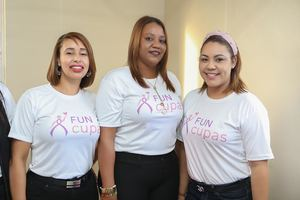 Ruth Delgado, Marlene Mendoza, y Elizabeth Gónzalez.