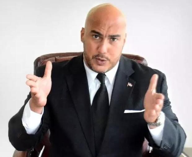 Candidato a diputado reformista por la circunscripción número 1 del Distrito Nacional, Homero González.