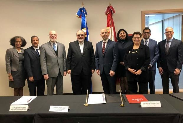 INESDYC y la Universidad de Carleton, en Canadá, firman memorando de entendimiento