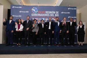 Gobernadores de los países miembros del Banco Interamericano de Desarrollo (BID) del Istmo Centroamericano y República Dominicana.